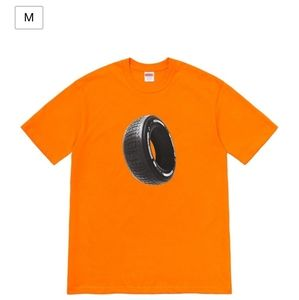Supreme Orange Tire Tee Size M. F/W20